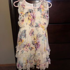 Isobella & Chloe Floral Dress- Size 5